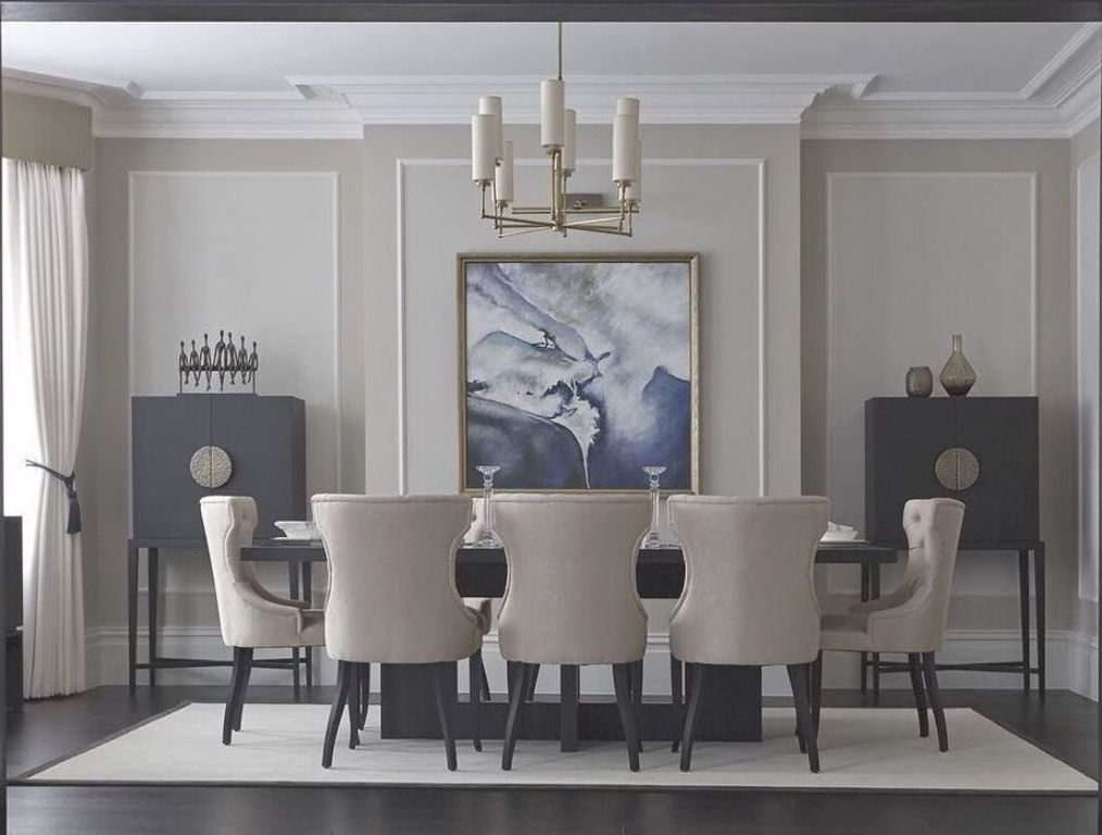35+ Pretty Classic Dining Room Trends Ideas 2018  #diningroom #diningroomdecor #diningroomideas