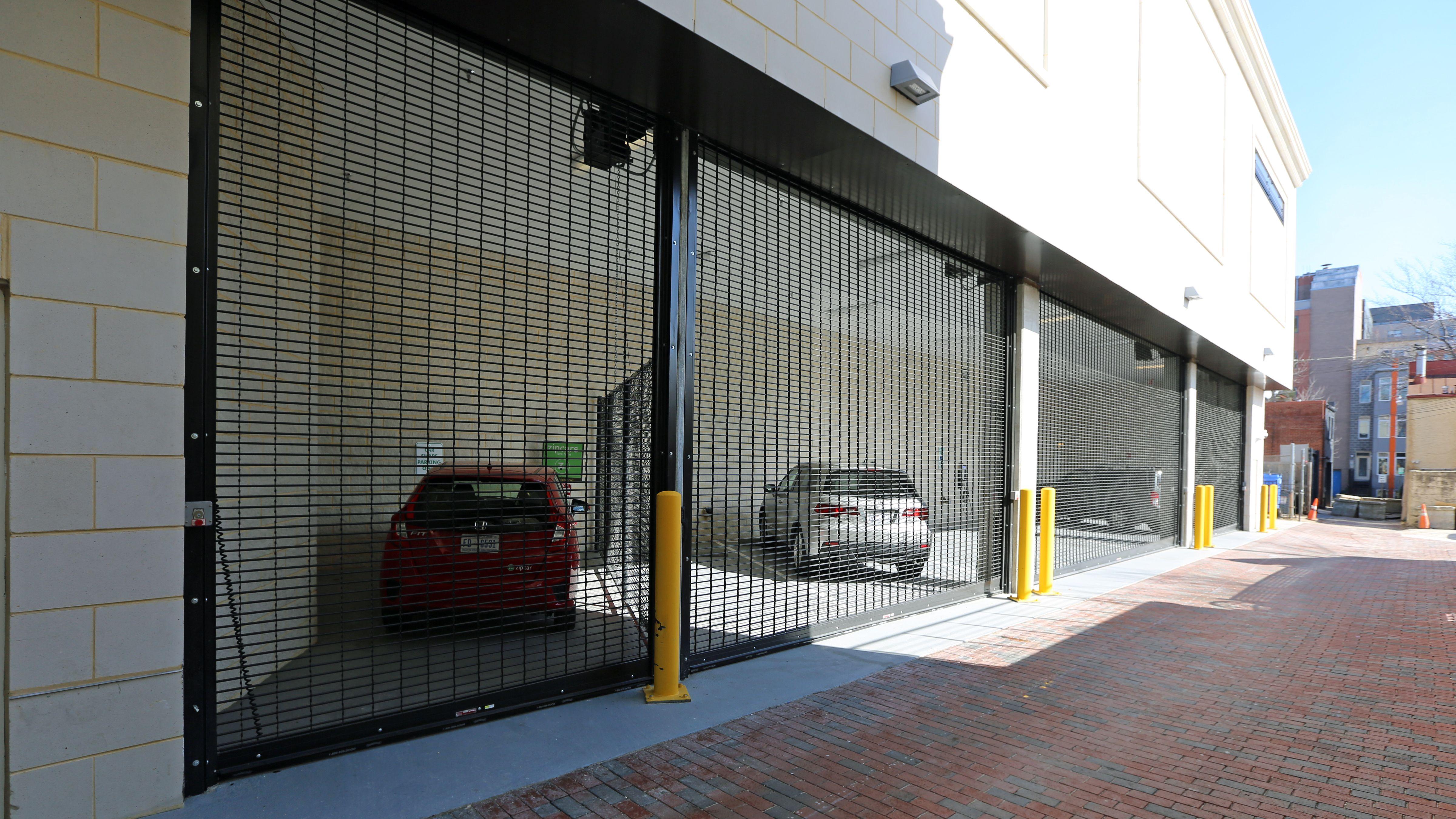 Roll Up Security Grille Garage Doors Installed By Overhead Door