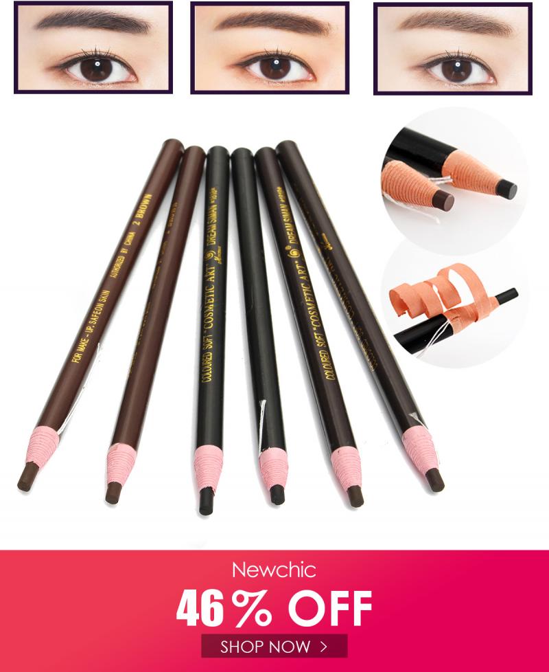 I found this amazing 12Pcs/Set Eyebrow Pencil Eyeliner