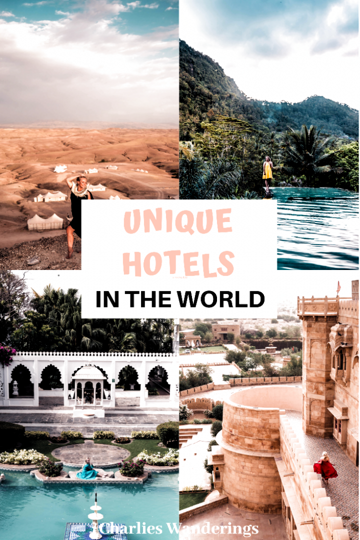 For this list I will only go over the most unique hotels in the world that I have already stayed at. Otherwise I wouldnt be able to give my honest opinion! the best hotels in the world, epic hotels in the world, best hotels for photography, instagrammable hotels, luxury hotels #Luxury