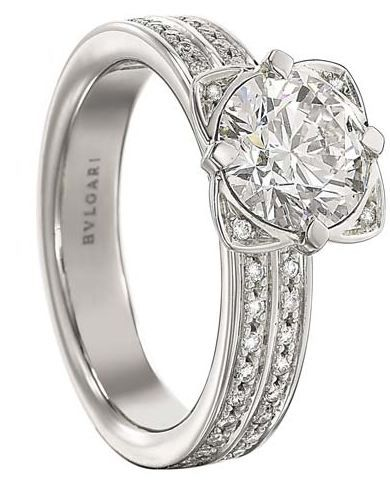 Bvlgari ring google search ring pinterest bvlgari for Bvlgari wedding ring price