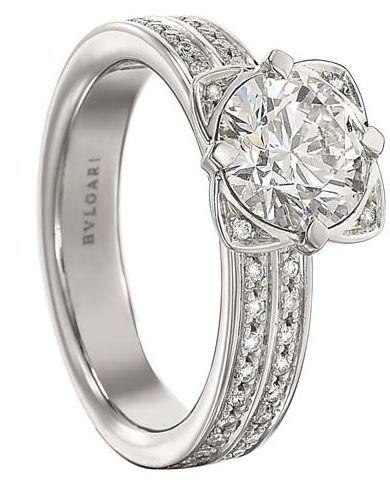 bulgari bride to venice giudecca platinum diamond ring