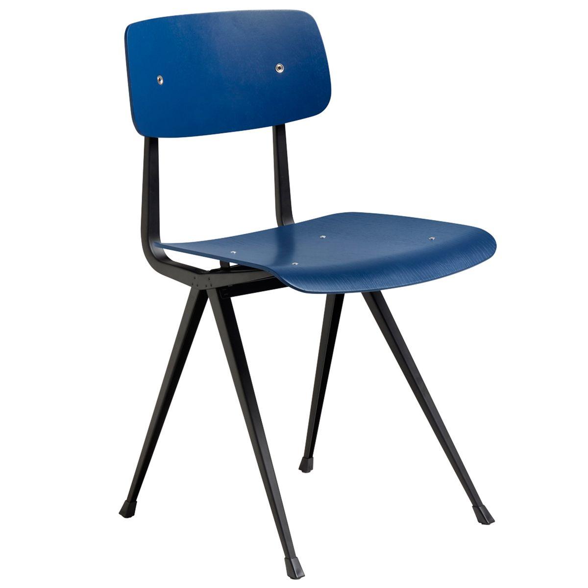 Hay Result Chair Black Dark Blue Oak Chair Chair Hays Furniture