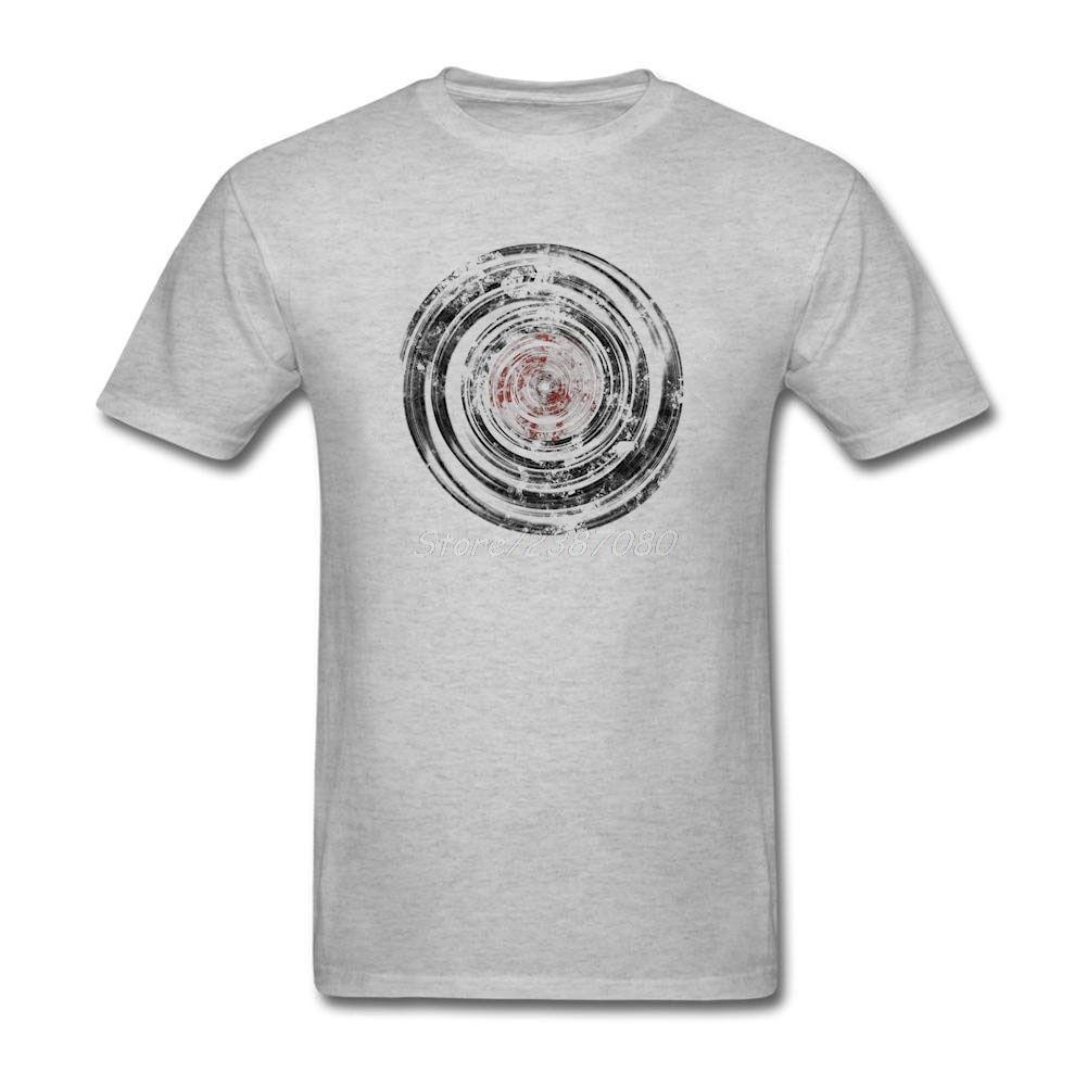 Vinyl Records Old Urban Grunge T Shirt Short Sleeve Custom Men S Clothes Popular Cool Big Size Cotton Men Shirts Dengan Gambar