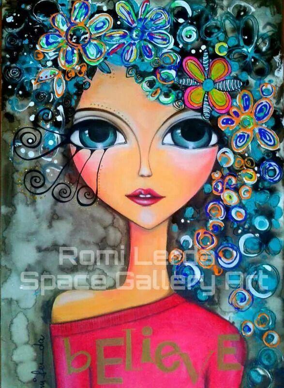 Resultado De Imagen Para Dibujo Caras Con Flores Abstracte Schilderijen Kleurrijke Schilderijen Aboriginal Schilderij
