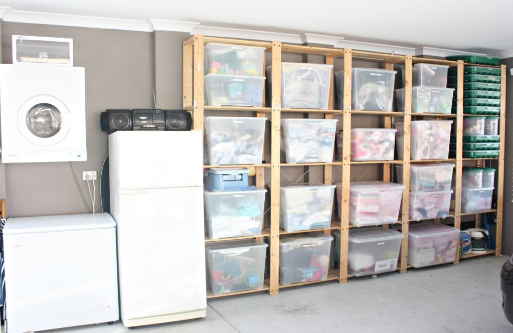 I hardly recognized this as a garage. & 19 Garage Organization Tips to Clear the Clutter - | Pinterest ...