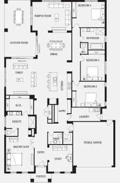 Fortitude, New Home Floor Plans, Interactive House Plans