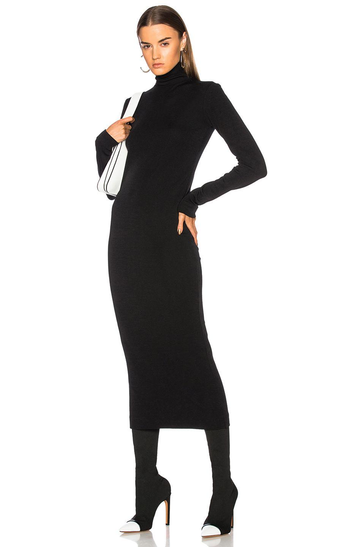 Haider Ackermann Turtleneck Sweater Dress Turtle Neck Dress Clothes Design Fashion [ 1440 x 953 Pixel ]