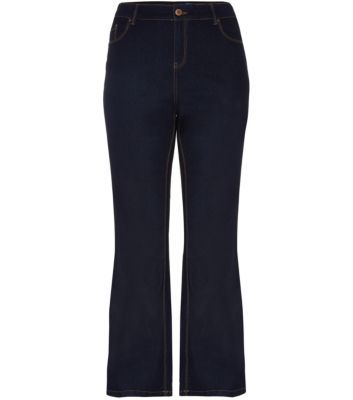 Inspire 28-36in Navy Bootcut Jeans