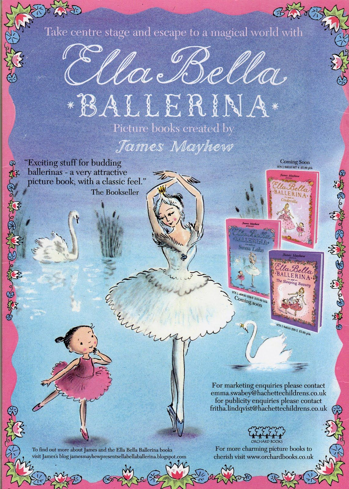 Our Daughter Ella Loves The Bella Ballerina Books Shell Be Thrilled When