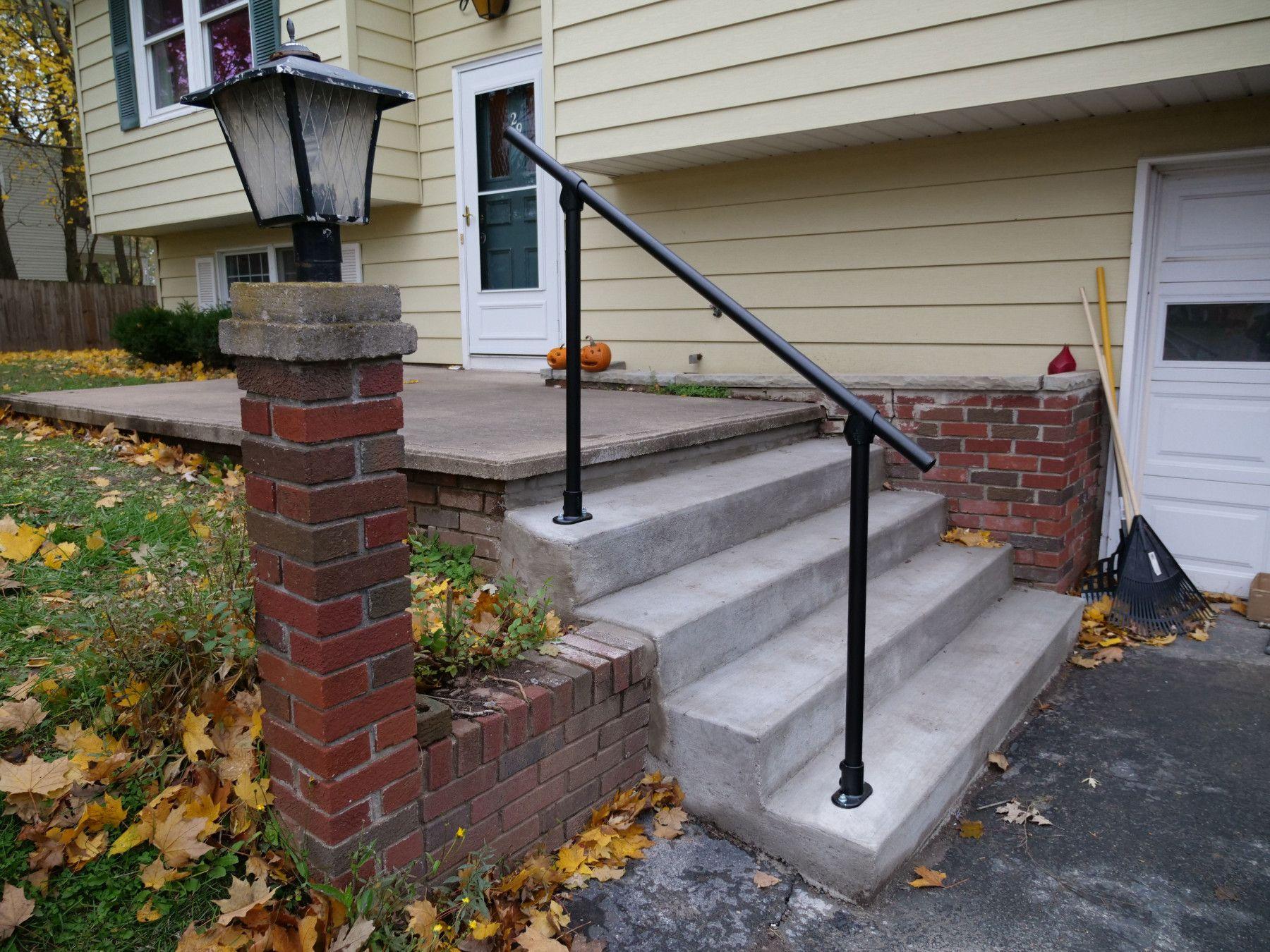 Black Surface 29 Affordable Exterior Handrail Simplified Building Exterior Handrail Outdoor Handrail Handrail