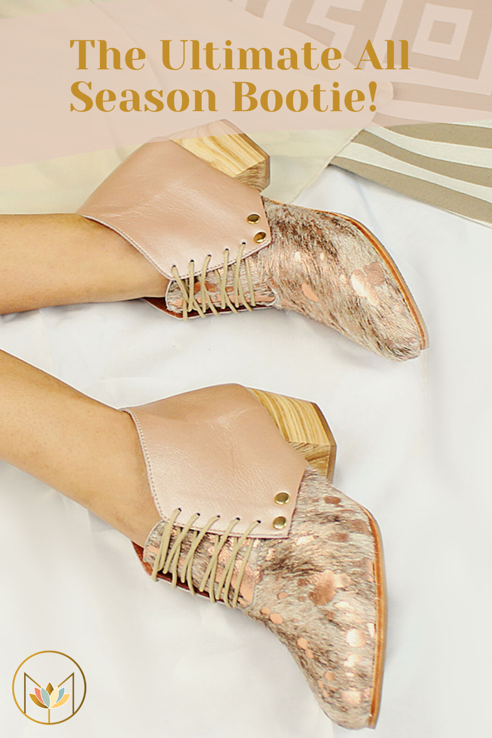 The Dineo In Nguni Rose Gold