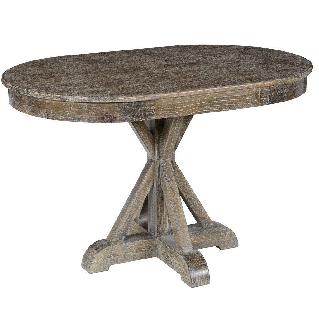 The Rustic Maxwell Dining Table Is An Ideal Dining Option For Those Cozier Kitchens And Nooks At Only 47 Lo Oval Table Dining Brown Dining Table Dining Table
