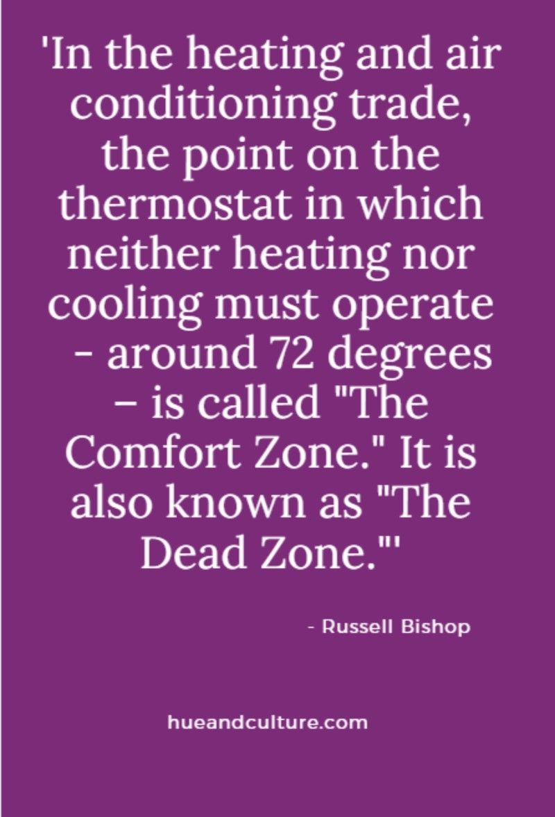 You Don T Grow In The Comfort Zone Or Should I Say The Dead Zone