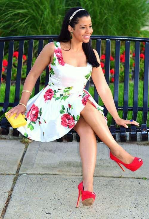Vestidos cortos con estampados florales muy lindos   http://vestidoparafiesta.com/vestidos-cortos-con-estampados-florales-muy-lindos/