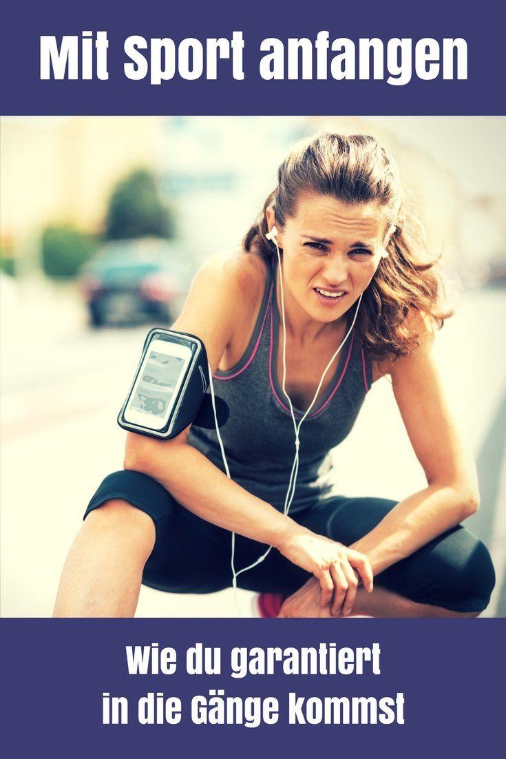 Mit Sport anfangen – wie du garantiert in die Gänge kommst ...