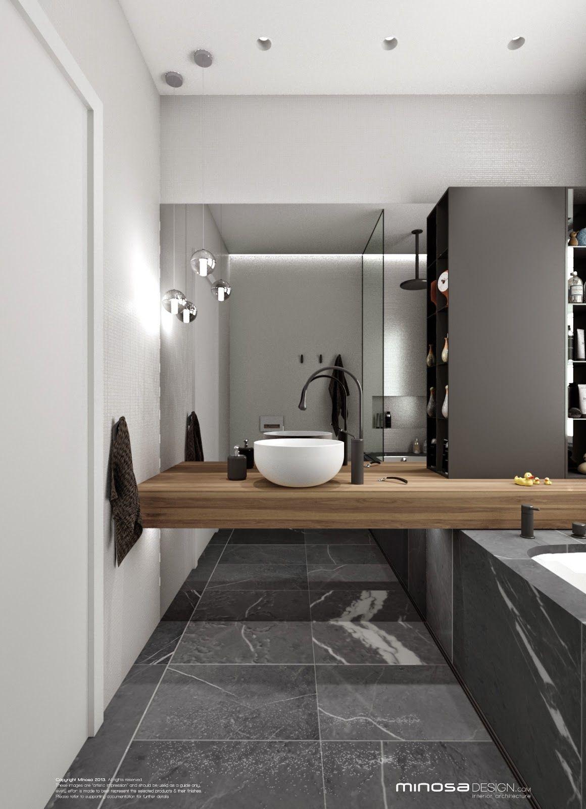 Guest Bathroom Downstairs Design!! Minosa Design: Bathroom Design   Small  Space Feels Large