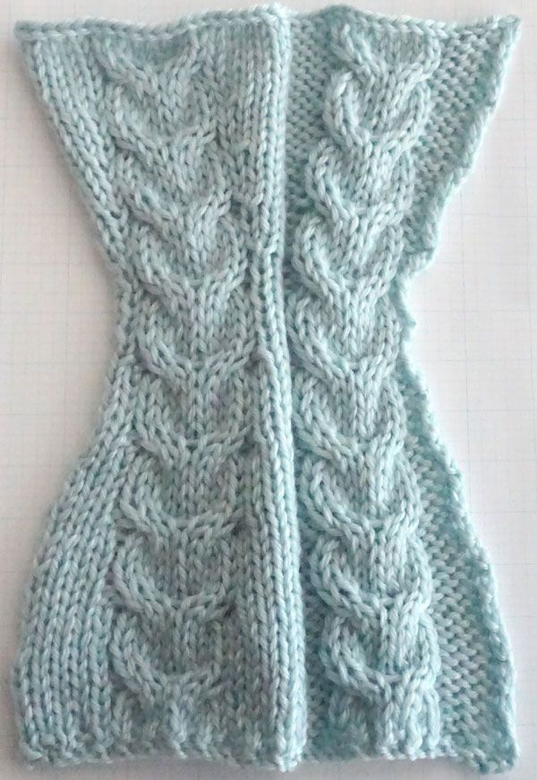 Shape Up: A Class in Cables - shaping within cable patterns   knit ...