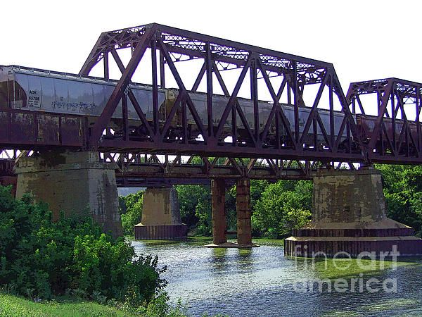 Old Fort Worth Railroad Bridge