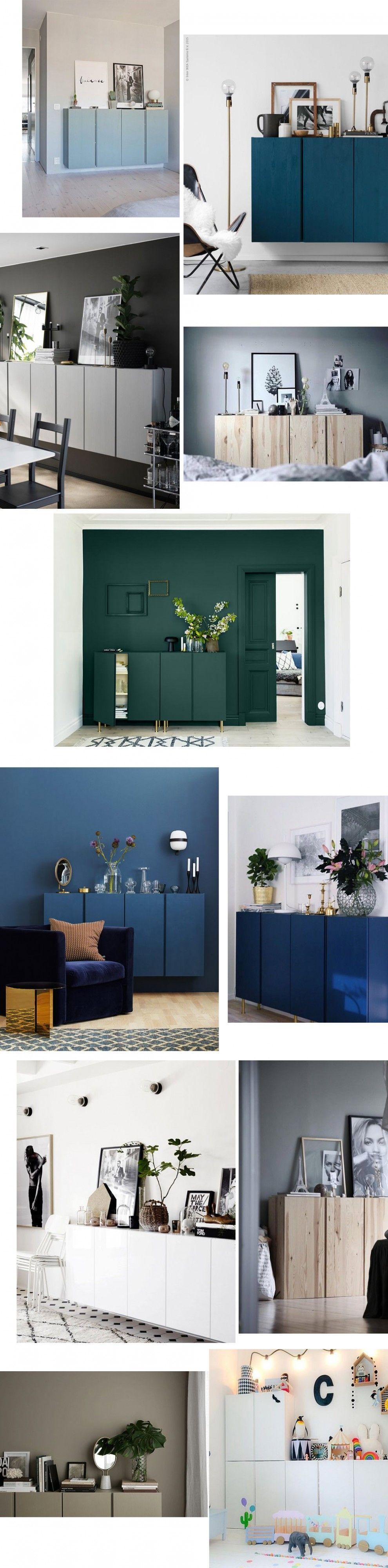 IKEA IVAR Schränke fürs Wohnzimmer. Mit Farbe sehen sie so edel aus ...