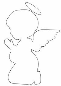Preatty 3d Free Printable Angel Girl Oh My First Communion First Communion Decorations Paper Christmas Decorations Silhouette Template