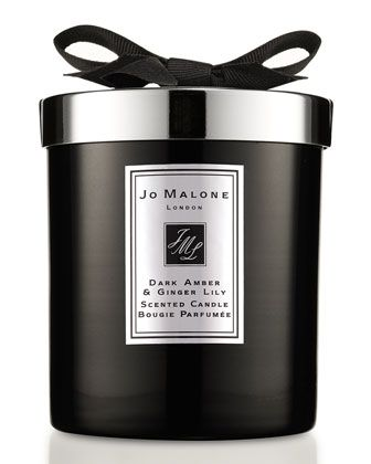 Dark Amber & Ginger Lily Home Candle by Jo Malone London at Bergdorf Goodman.