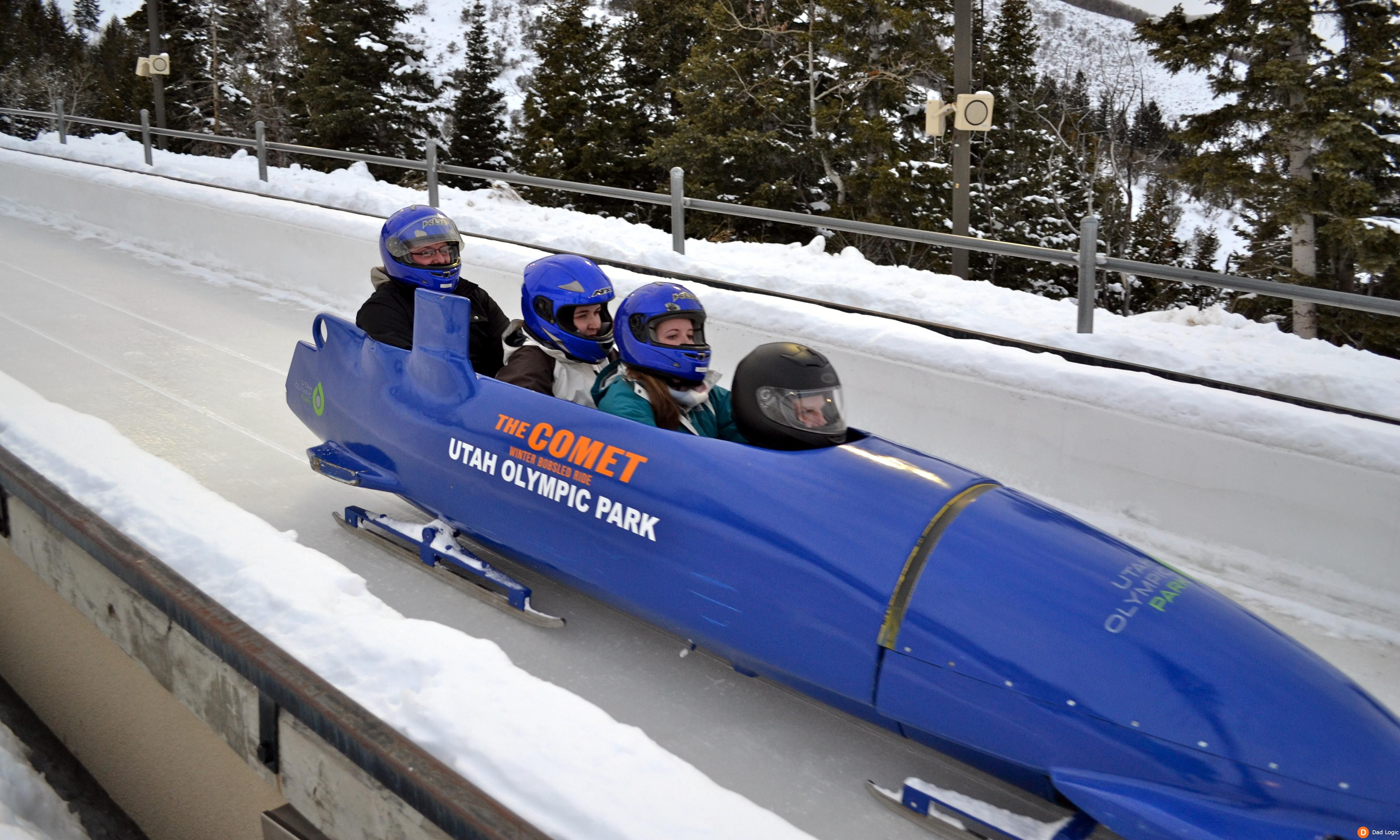 Think You Can Handle The Comet Bobsled Ride At Utah