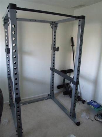 commercial extended multi power grip solid rack body fitness products master axtion