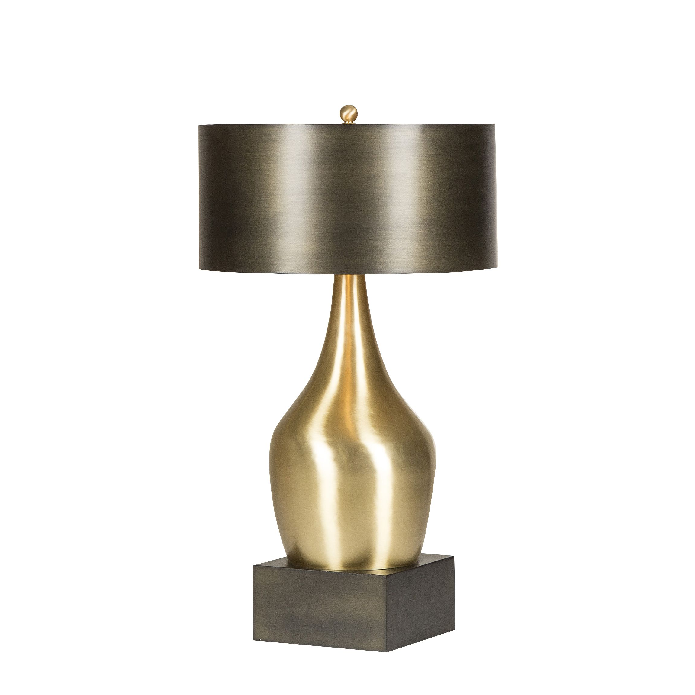 Lighting lamps gold lion table lamp this brushed brass table lighting lamps gold lion table lamp this brushed brass table lamp is topped geotapseo Gallery