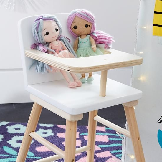 land of nod high chair doll relax the back office chairs mod girls gifts brainstorming