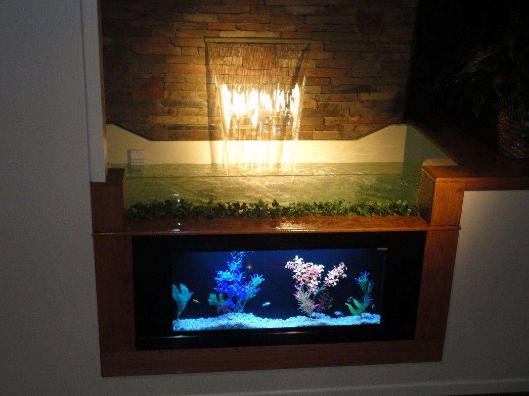 Interior Gorgeous Wall Aquarium Designs Decor Inspiration Yagov Wall Aquarium Aquarium Design Decor Design