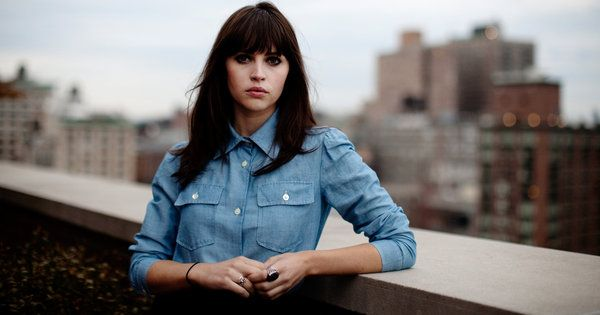 Haven't seen the movie but kind of obsessed with Felicty Jones