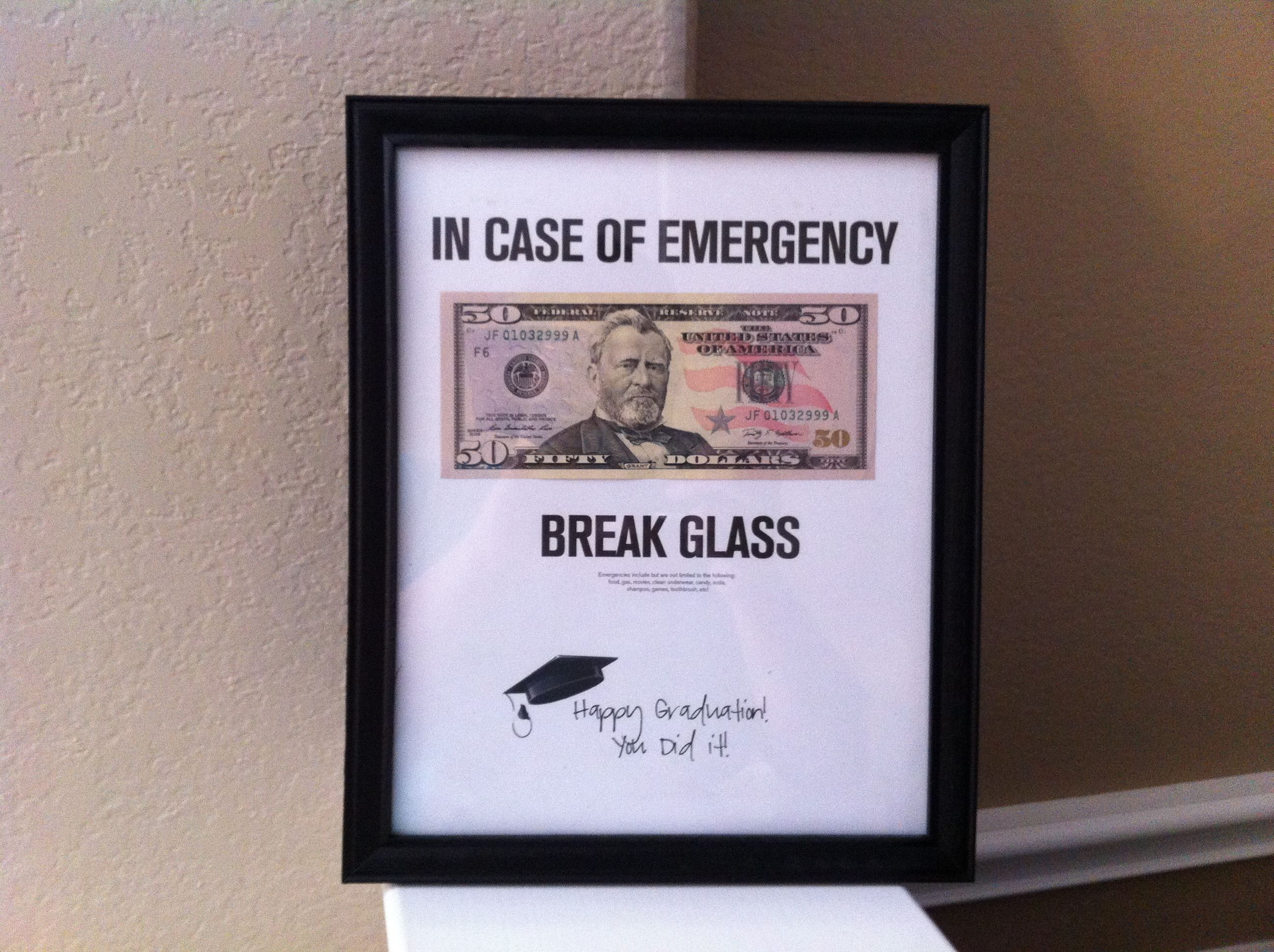 Graduation Gift Frame | DIY Crafts/Projects | Pinterest ...