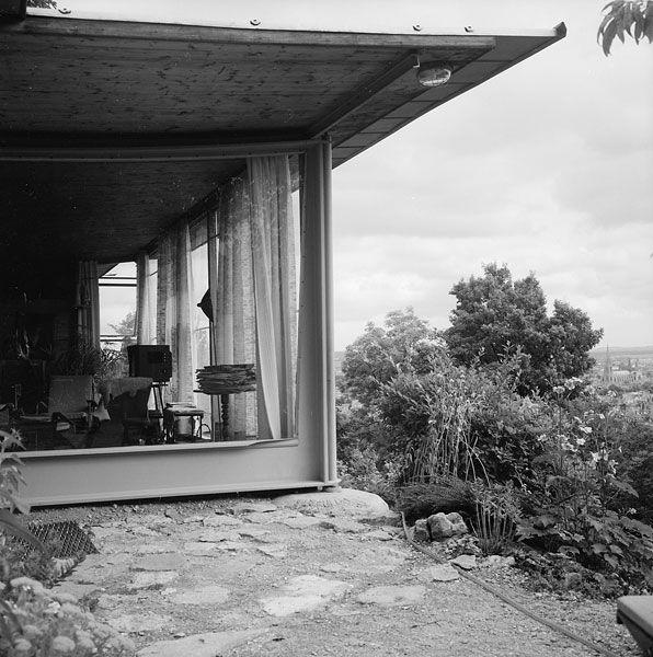 maison de jean prouv nancy 1954 architecture pinterest jean prouve jeans et maisons. Black Bedroom Furniture Sets. Home Design Ideas