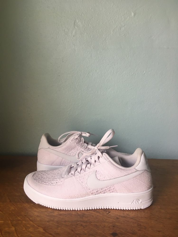 df7d7a24451 Nike Air Force 1 Ultra Flyknit Low AF1 Light Violet White 817419-500 Men s  Sz