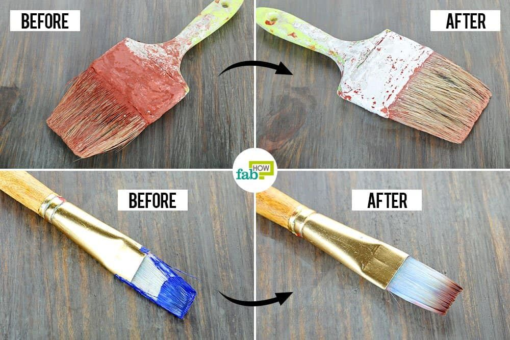 How To Clean Paint Brushes We Tried 6 Most Popular Methods