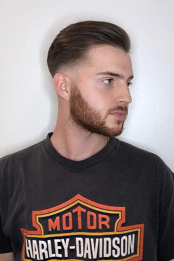 A Taper Fade Short Haircut Taperedfadehaircut Fadehaircut