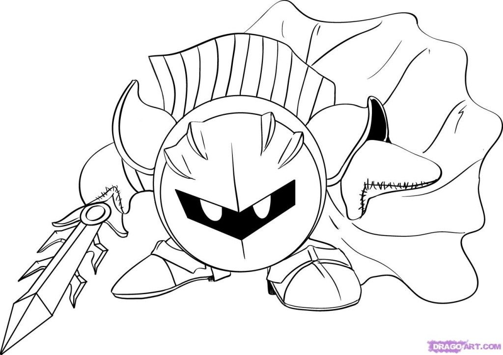 Kirby Coloring Pages Free Coloring Pages For Kidsfree Coloring Az Coloring Pages Coloring Pages Coloring Books Monster Coloring Pages