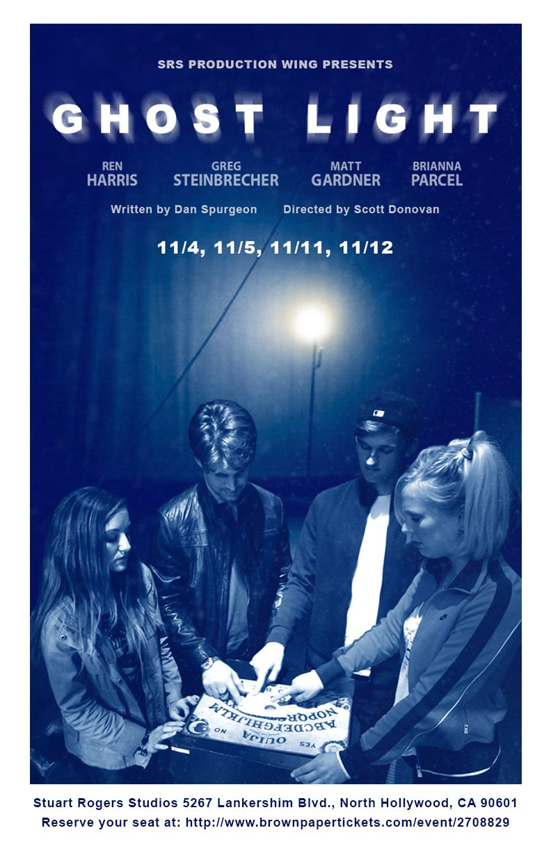 Ghost Light Play Poster Design
