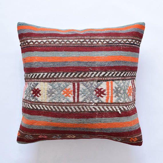 26x26 Pillow Covers Coussin Kilim Kissen Marokko Boho Pillow