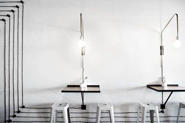 Ginger & Fig // Restaurante moderninho com ares industriais e fabris na África do Sul – DecouvrirDesign