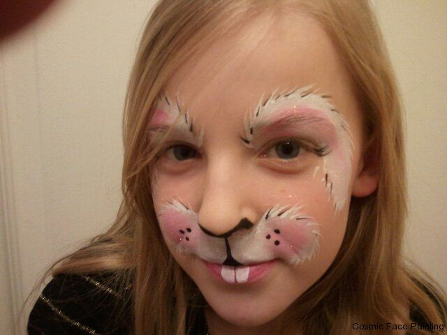 Basic Bunny make Up For halloween | Back to Photo Galleries