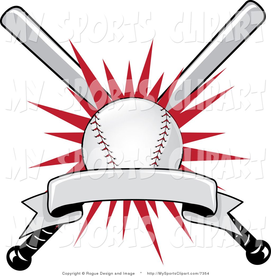 baseball clip art sports clip art of a baseball bat and ball with