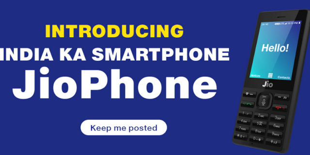 Ten Months Since The Launch Of Jio Reliance Has Launched The Jiophone A Low Cost 4g Featur Phone Dual Sim Mobile Phones Online