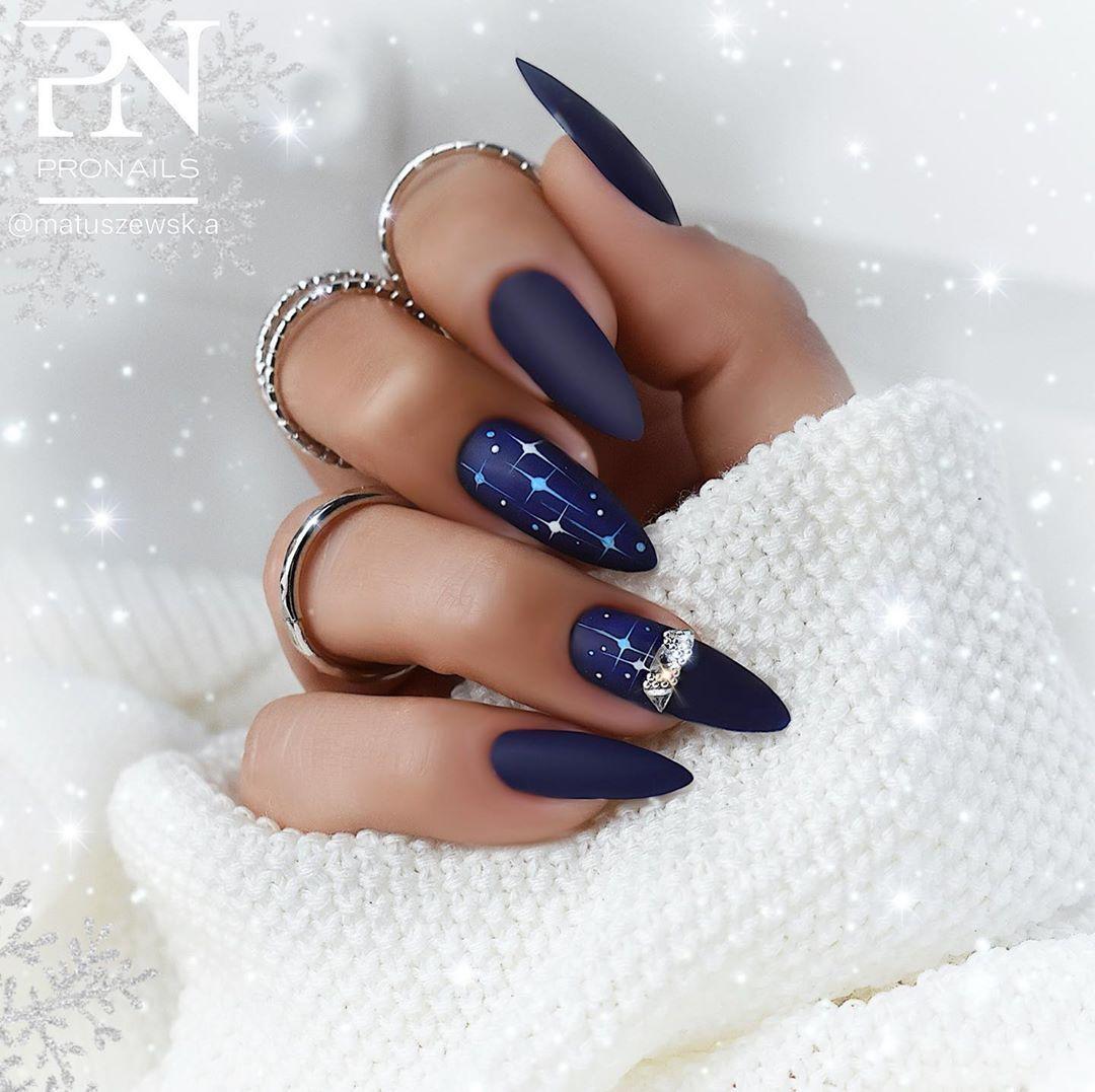Nails Designer On Instagram Granat 230 Z Kolekcji Enigma