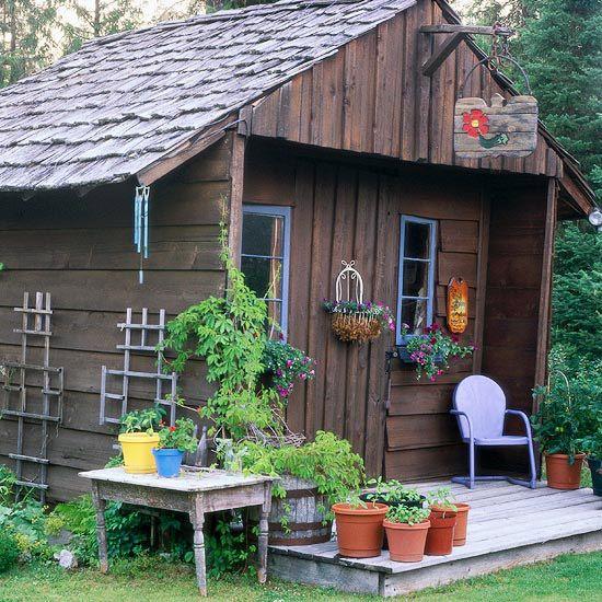 A Gallery of Garden Shed Ideas Cedar shake shingles