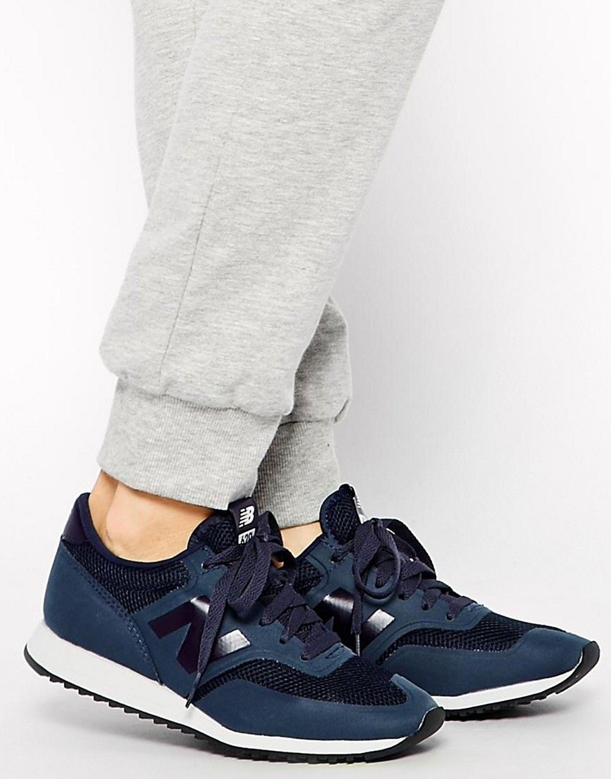 new balance - 620 - baskets - bleu