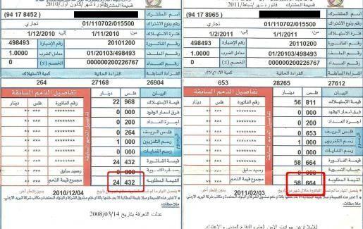المياه والكهرباء في فاتورة واحدة قريبا لضمان تسديد قيمتها Arab News Periodic Table