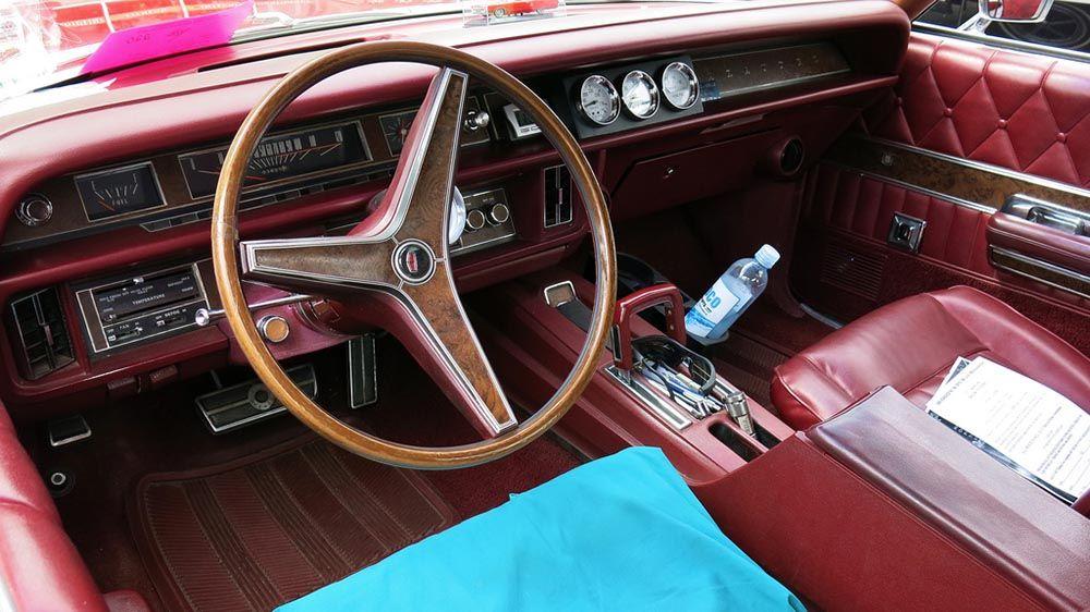 1969 Mercury Marauder X 100 Interior