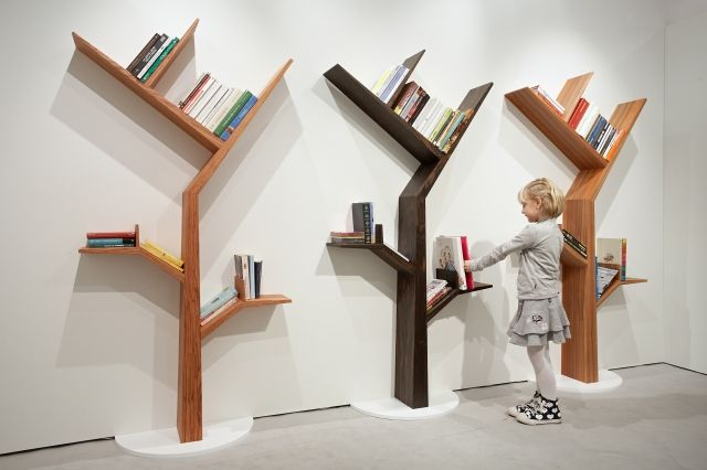 Das Elm Tree Bucherregal Mit Bildern Bucherregal Diy Baumregal Bucherregal Design